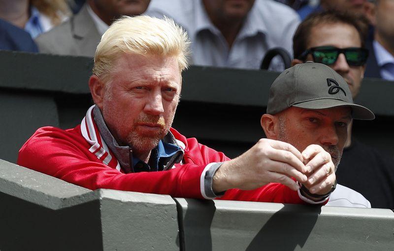 "Borisas Beckeris. ""Reuters""/""Scanpix"" nuotr."
