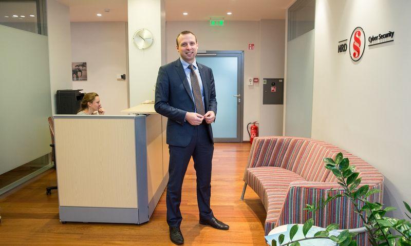 """Dr. Vilius Benetis, """"NRD CS"""" direktorius. Juditos Grigelytės (VŽ) nuotr."""
