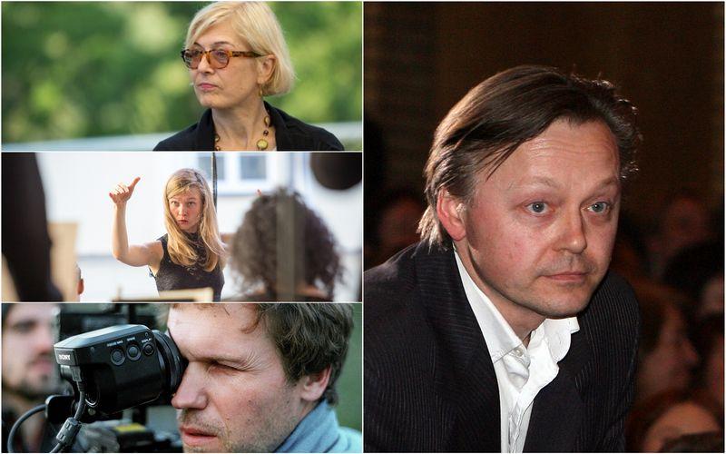 """Iš kairės į dešinę: Giedrė Jankevičiūtė, Mirga Gražinytė, Audrius Kemežys, Darius Meškauskas. """"Scanpix""""nuotr./VŽ koliažas"""