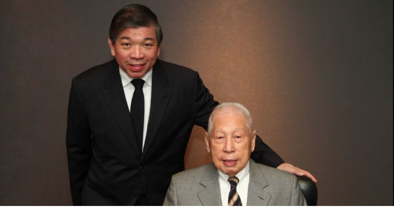 "Teo Siong Sengas (kairėje) ir Chang Yun Chungas. ""Pacific International Lines"" nuotr."