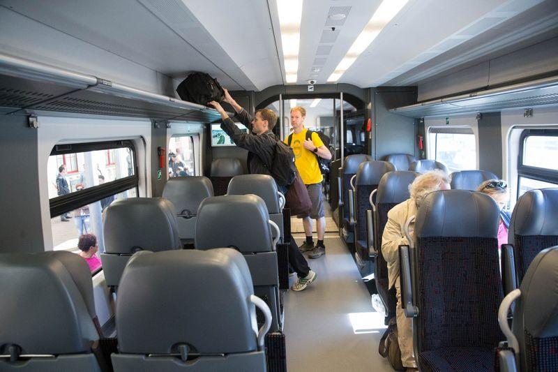Seime pritarta kombinuotam keleivių vežimui. Vladimiro Ivanovo (VŽ) nuotr.