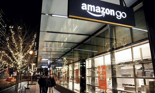 """""""Amazon"""" bando didesnio formato parduotuves be kasų"""