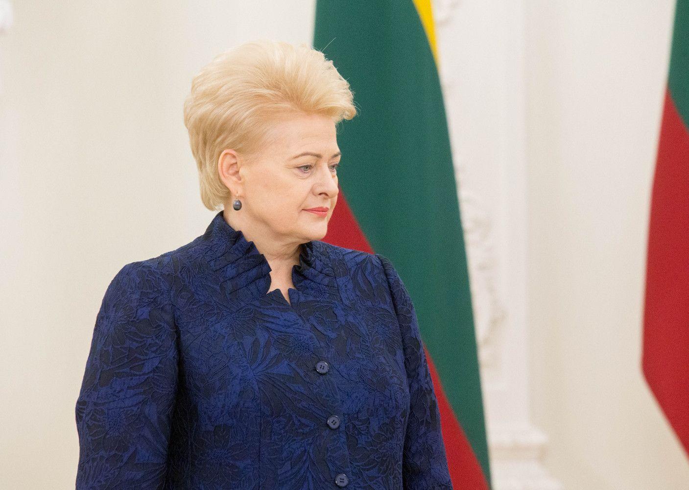 """D. Grybauskaitė dar pakilo """"Forbes"""" įtakingiausių pasaulio moterų reitinge"""