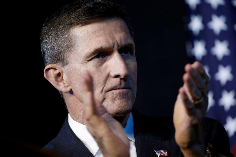 "Michaelas Flynnas. Mike'o Segaro (""Reuters"" / ""Scanpix"") nuotr."