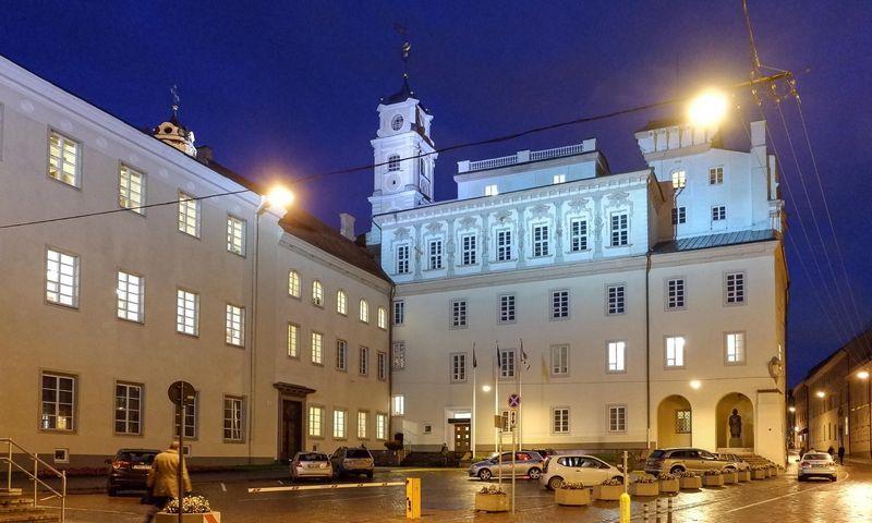 Vilniaus universitetas – seniausias ir didžiausias Lietuvos universitetas, įkurtas 1579 m. Vladimiro Ivanovo (VŽ) nuotr.