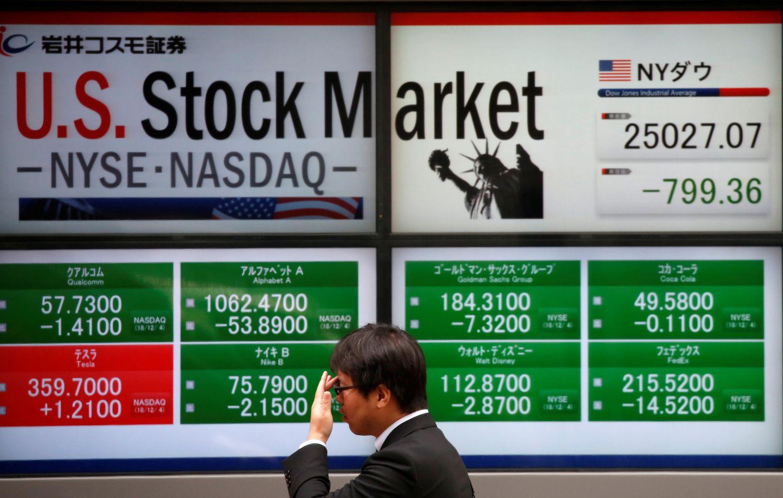 Išsipardavimą JAV akcijų rinkoje išprovokavo recesijos signalai