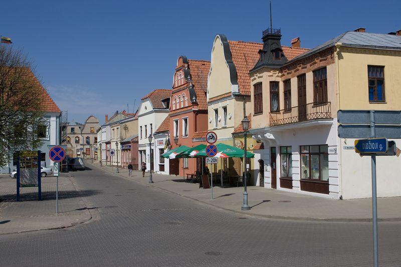 Kėdainių senamiestyje įrengtos 3 automobilių stovėjimo aikštelės. Juditos Grigelytės (VŽ) nuotr.
