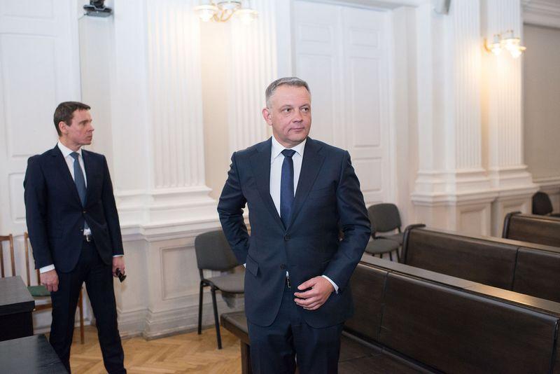 """""""MG Baltic"""" byla: Eligijus Masiulis ir Raimondas Kurlianskis. Vladimiro Ivanovo (VŽ) nuotr."""