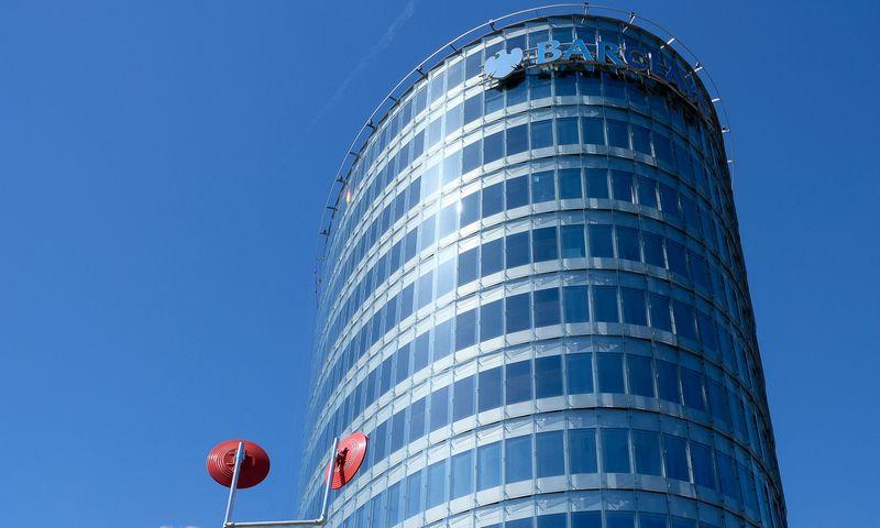 """Barclays"" biuro pastas Vilniuje. Vladimiro Ivanovo (VŽ) nuotr."