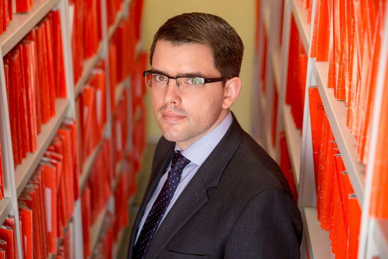 Arūnas Želvys, Valstybinio patentų biuro direktorius. Vladimiro Ivanovo (VŽ) nuotr.