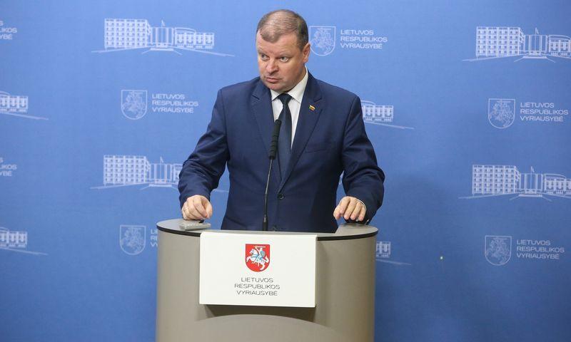 Premjeras Saulius Skvernelis dar nėra paskelbęs, ar dalyvaus prezidento rinkimuose, bet yra laikomas bene realiausiu potencialiu LVŽS kandidatu. Vladimiro Ivanovo (VŽ) nuotr.