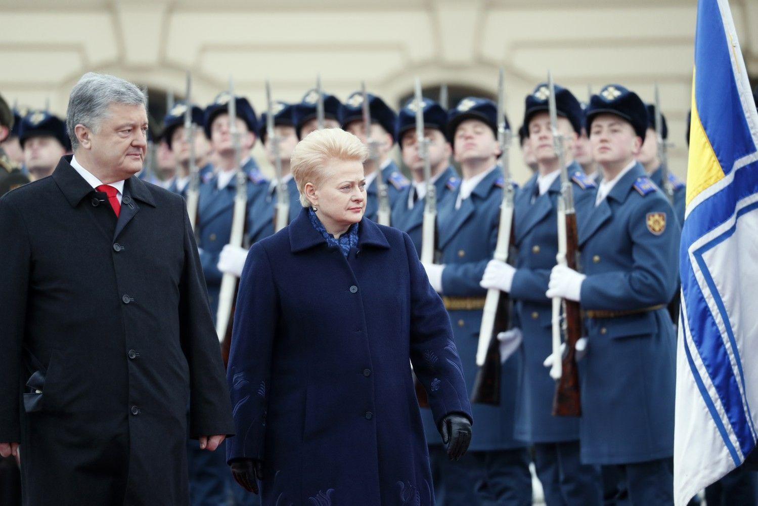 D. Grybauskaitė žada, kad Lietuva perduos Ukrainai šovinių, siųs daugiau instruktorių