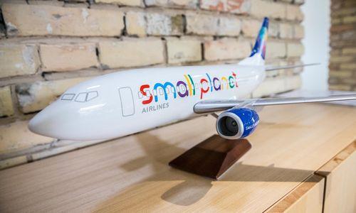"""""""Small Planet Airlines"""" pateikė paraišką bankrotui"""
