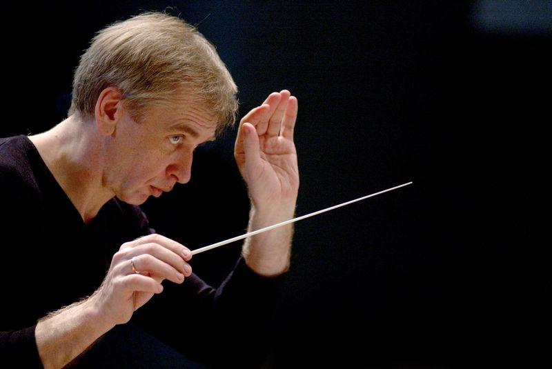 Maestro Gintaras Rinkevičius. LNSO nuotr.