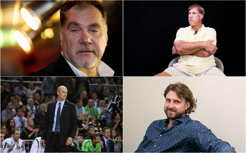 Arvydas Sabonis, Šarūnas Marčiulionis, Saulius Štombergas ir Arvydas Macijauskas. VŽ koliažas.