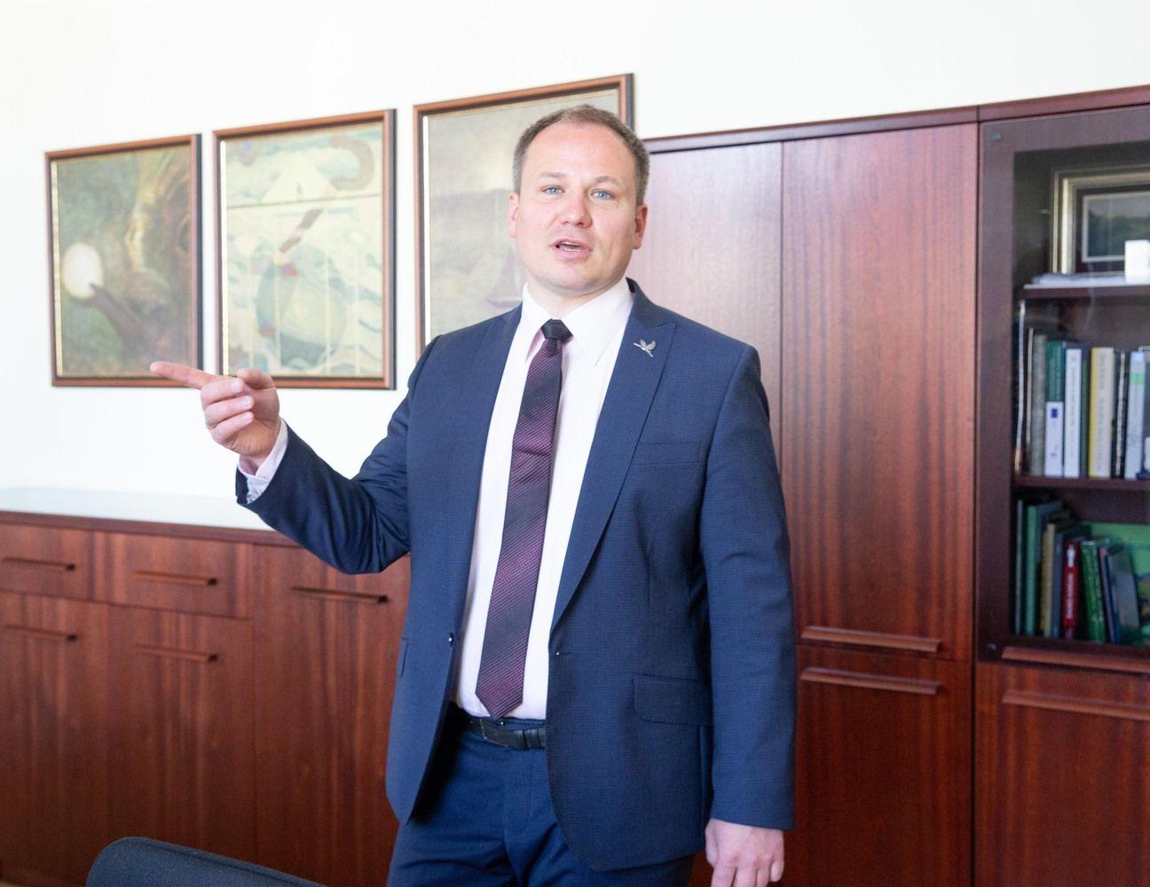 Ministras: ŽŪMKaune gali įsikurti valstybei nereikalinguose objektuose