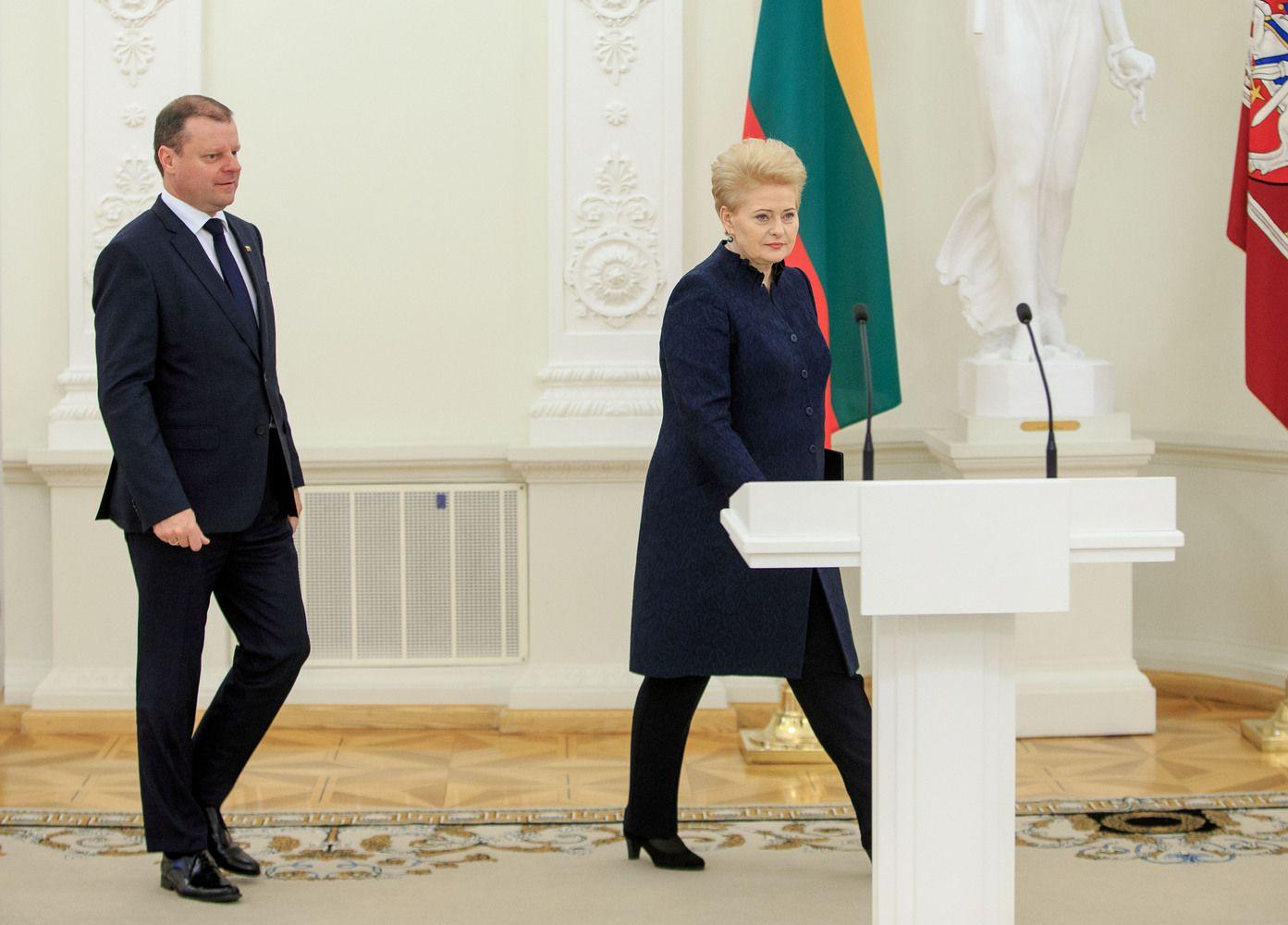 D. Grybauskaitė: arogancija – vienas iš šios Vyriausybės pagrindinių bruožų