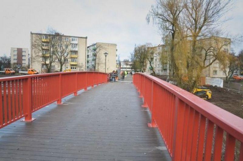 Kėdainiuose baigtas atnaujinti tiltas per Smilgos upelį. Kėdainių raj. savivaldybės nuotr.