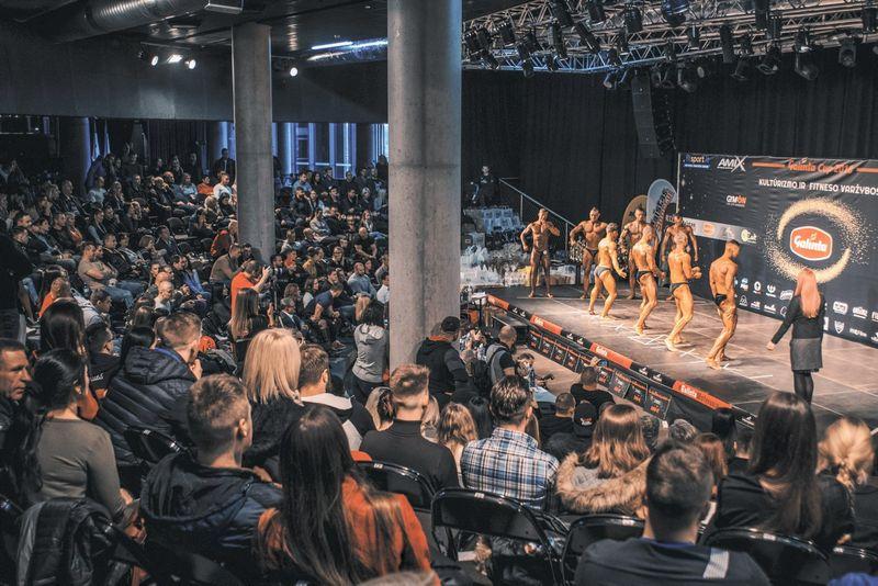 Amfiteatre vyksta ne tik įvairūs koncertai, spektakliai ar mokymai, bet ir įvairios varžybos, pavyzdžiui, fitneso.