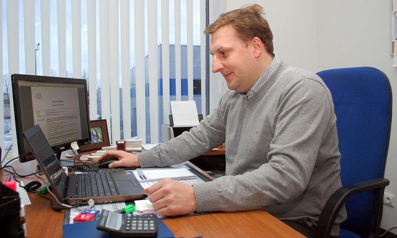 """Rimantas Damanskis, inžinerinės pramonės asociacijos """"Linpra"""" plastikų pramonės eksperta. Sigito Stasaičio nuotr."""