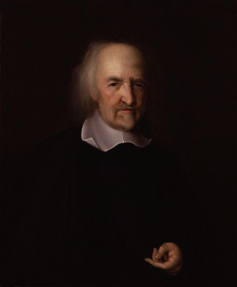 """Mirties baimė skatina žmones ieškoti taikos, aiškina anglų filosofas Thomas Hobbesas. """"Vikipedijos"""" nuotr."""