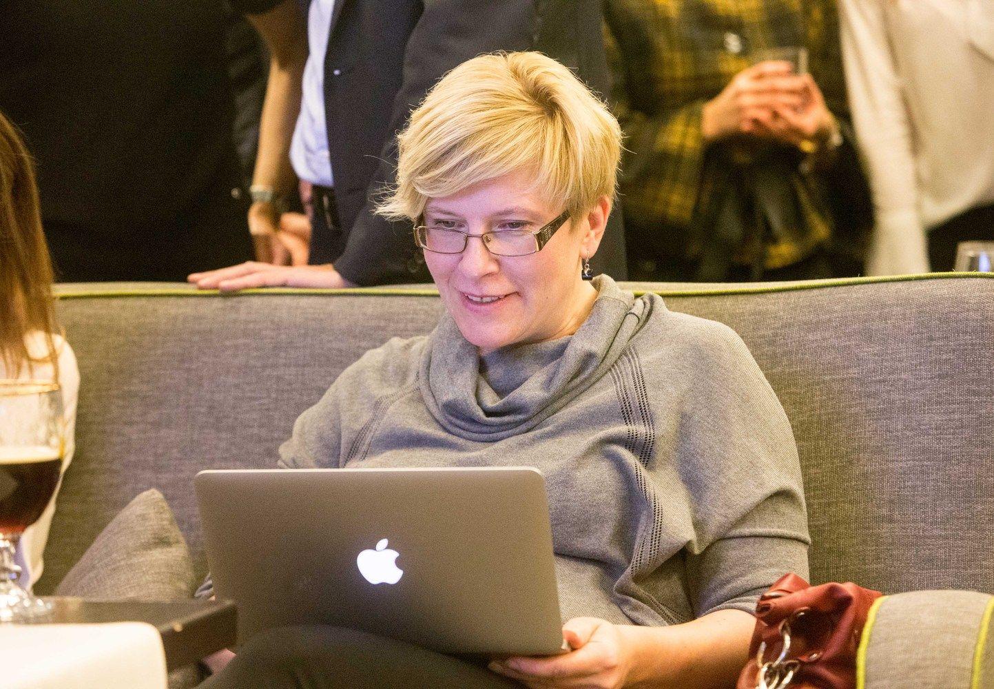 Ingrida Šimonytė pagal populiarumą toliau vejasi Gitaną Nausėdą