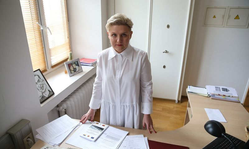 Erika Lukšė, konkurencijos tarybos nesąžiningos komercinės veiklos tyrimo skyriaus vedėja. Vladimiro Ivanovo (VŽ) nuotr.