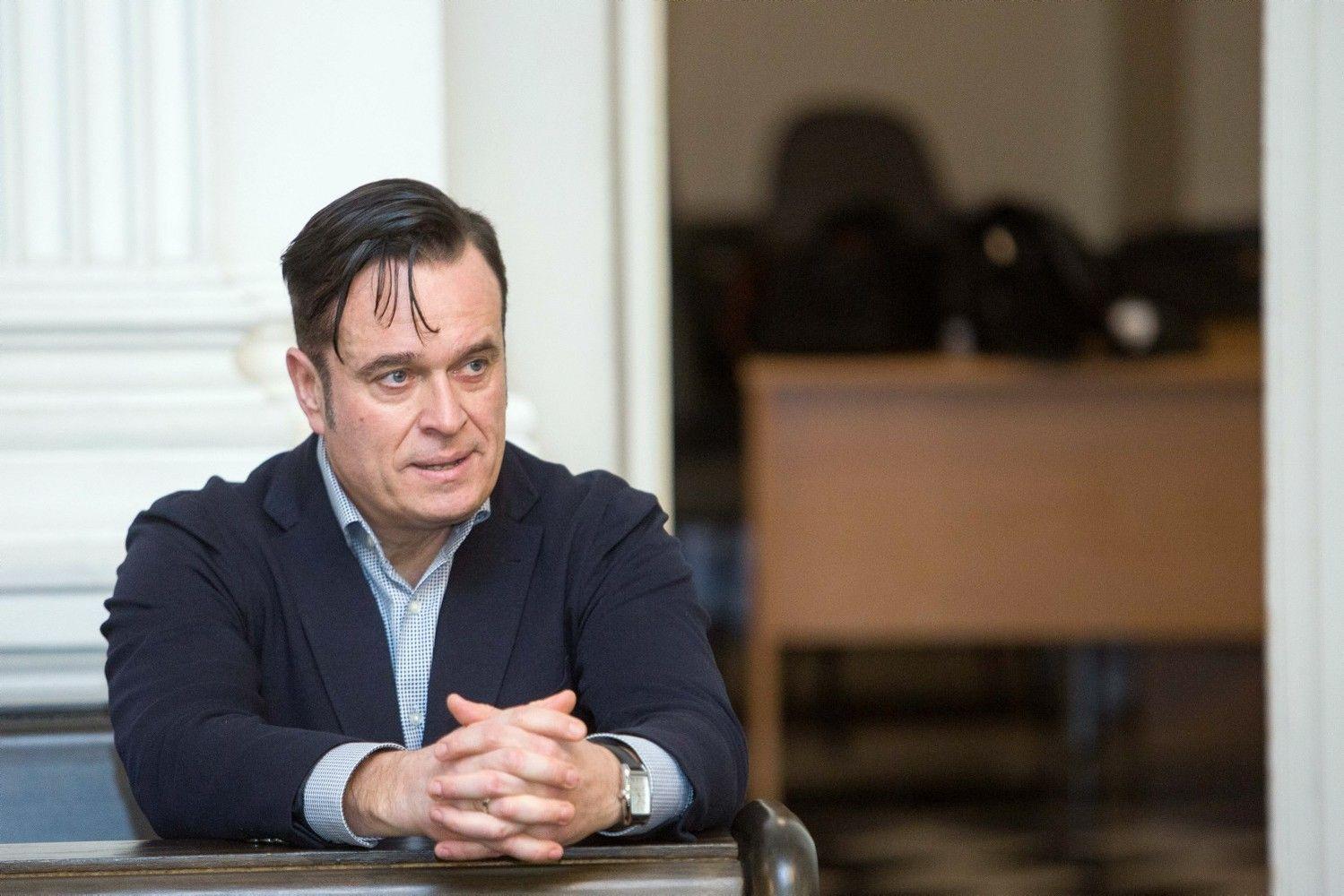 """""""MG Baltic"""" byloje apklausiamas buvęs VMI vadovas D.Bradauskas"""
