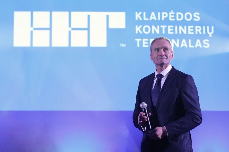 Vaidotas Šileika, Klaipėdos konteinerių terminalo generalinis direktorius. Bendrovės nuotr.