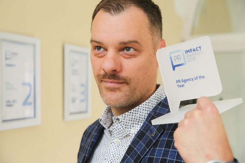 """Paulius Tamulionis, agentūros """"Idea prima"""" vadovas, komunikacijos konsultantas. Vladimiro Ivanovo (VŽ) nuotr."""