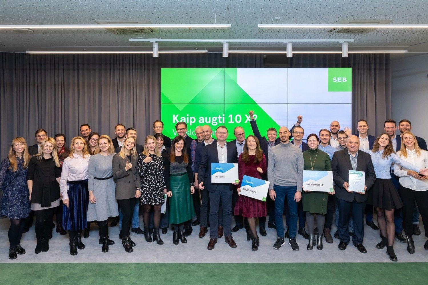 Spartaus verslo augimo programos finiše– 11 inovatyvių idėjų
