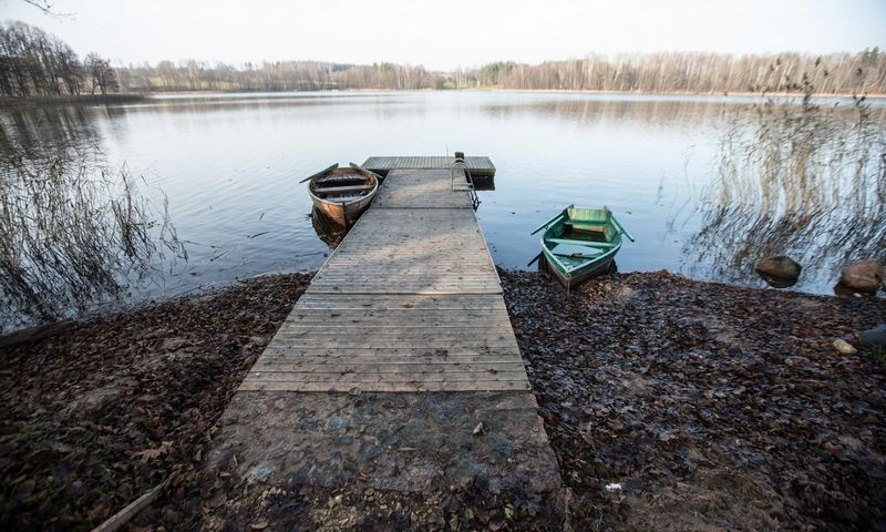 Šiuo metu Lietuvoje išnuomotas 871 vandens telkinys. Juditos Grigelytės (VŽ) nuotr.