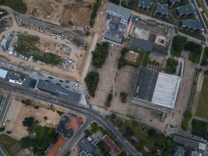 """Buvusio """"Žalgirio"""" stadiono teritorija. Vladimiro Ivanovo (VŽ) nuotr."""
