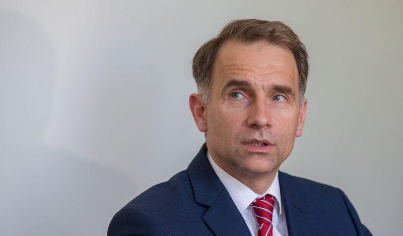 Rokas Masiulis pristatė pastarųjų dviejų metų kovos su korupcija rezultatus. Juditos Grigelytės (VŽ) nuotr.
