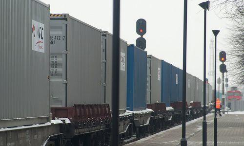 Per Lietuvą pravažiavo 100-asis traukinys iš Kinijos