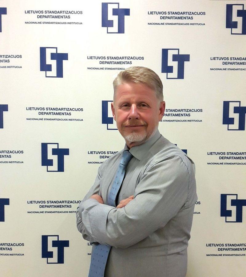Lietuvos standartizacijos departamento direktorius Rimantas Sanajevas.