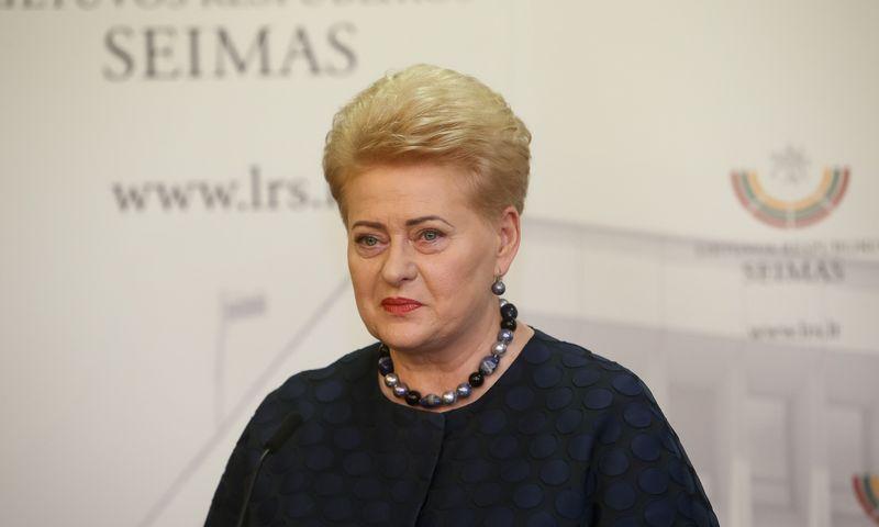 Dalia Grybauskaitė. Vladimiro Ivanovo (VŽ) nuotr.