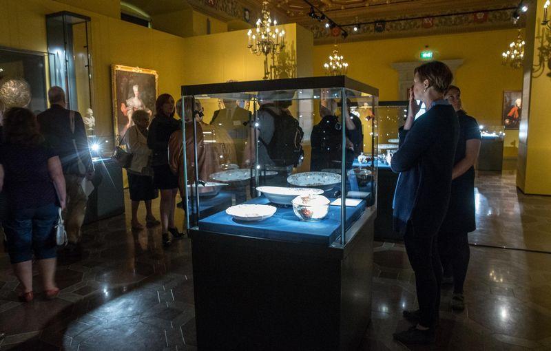 2016 m. kultūros sektoriaus sukurta bendroji pridėtinė vertė sudarė 802,1 mln. Eur. Nuotraukoje - paroda Valdovų rūmuose. Juditos Grigelytės (VŽ) nuotr.
