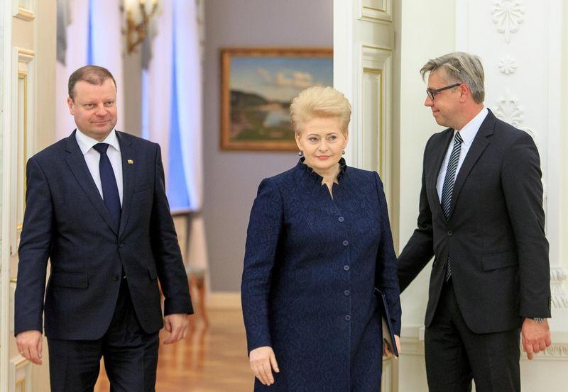 Dalia Grybauskaitė, Saulius Skvernelis. Vladimiro Ivanovo (VŽ) nuotr.