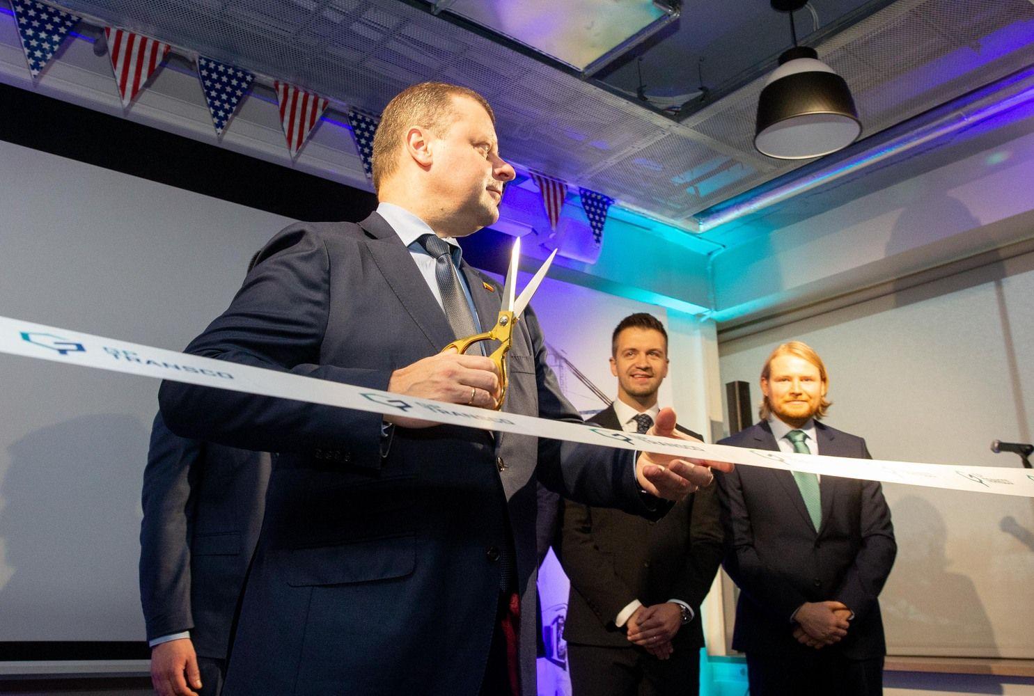 """Emigrantų Amerikoje įkurta """"GP Transco"""" įsikėlė į naują biurąVilniuje"""