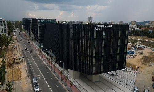 """Baigta rekonstruoti sostinės Rinktinės gatvės atkarpa, """"Hanner"""" investavo 1 mln. Eur"""