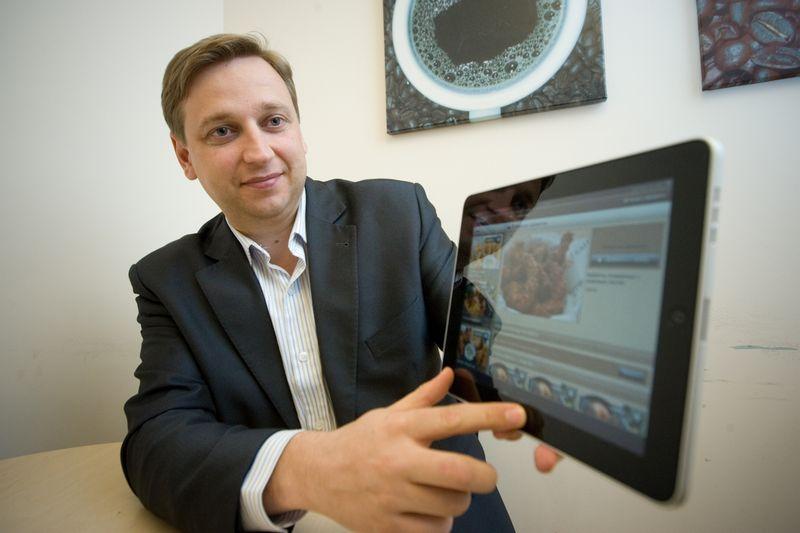 """Evaldas Remeikis, """"Paskolų klubo"""" platformą valdančios bendrovės """"NEO Finance"""" valdybos pirmininkas. Vladimiro Ivanovo (VŽ) nuotr."""