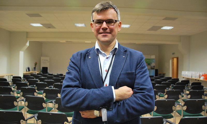 """Dainius Cibulskis, """"Nordic Sugar Kėdainiai"""" direktorius: """"Iki šiol investicijos buvo smulkesnės, dabar atėjo laikas stambesniam atsinaujinimui."""" Indrės Sesartės (VŽ) nuotr."""
