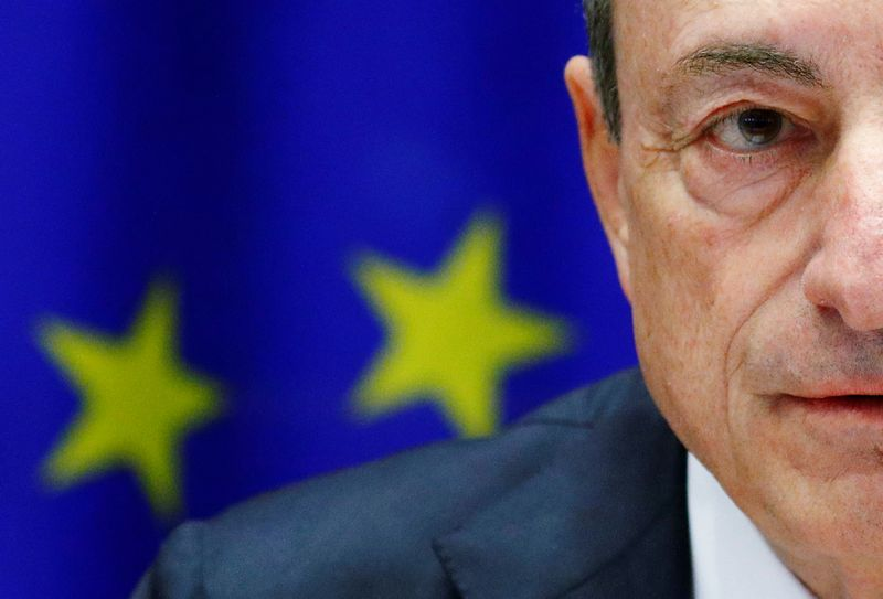 "Mario Draghi, ECB prezidentas.  Francois Lenoir (""Reuters"" / ""Scanpix"") nuotr."