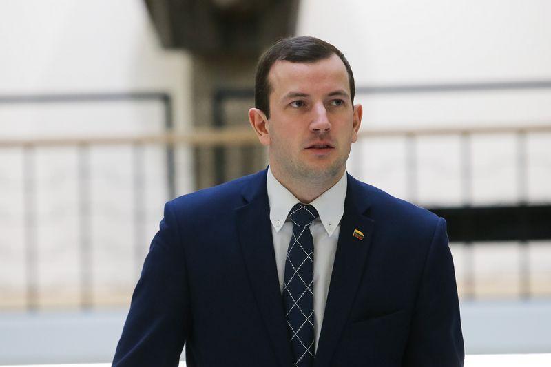 Virginijus Sinkevičius, ūkio ministras. Vladimiro Ivanovo (VŽ) nuotr.