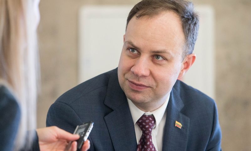 Aurelijus Veryga, Lietuvos Respublikos sveikatos apsaugos ministras. Juditos Grigelytės (VŽ) nuotr.