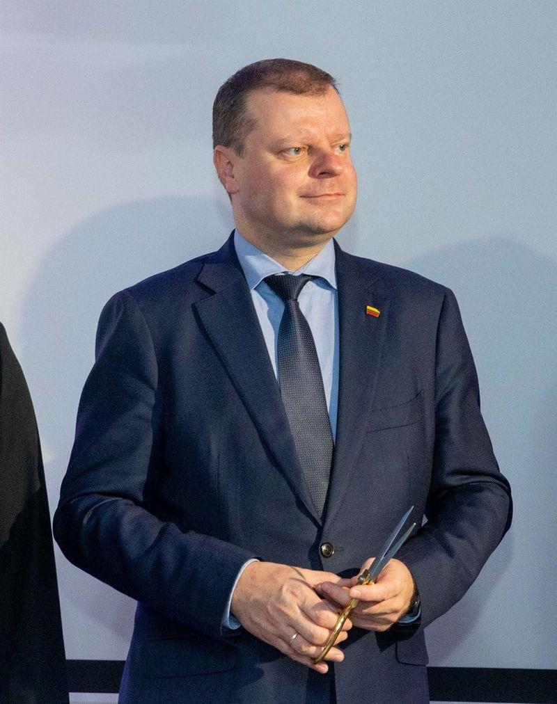 Saulius Skvernelis, premjeras. Juditos Grigelytės (VŽ) nuotr.