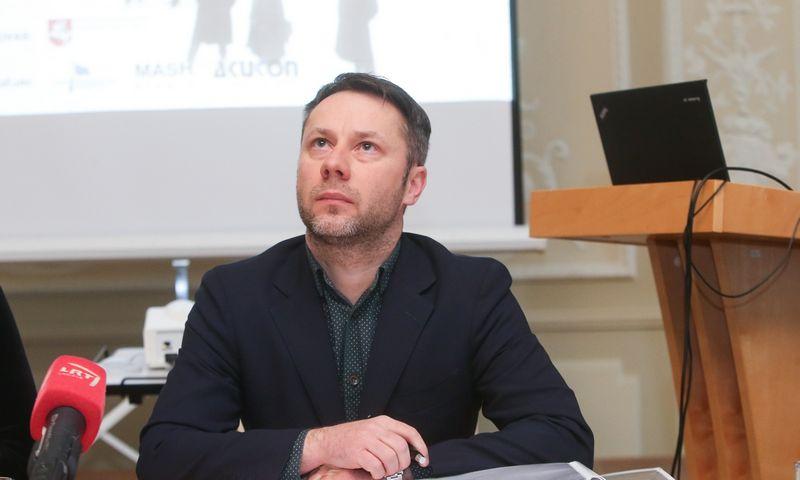 """Simas Lubauskas, UAB """"Eurointegracijos projektai"""" vadovas. Vladimiro Ivanovo (VŽ) nuotr."""