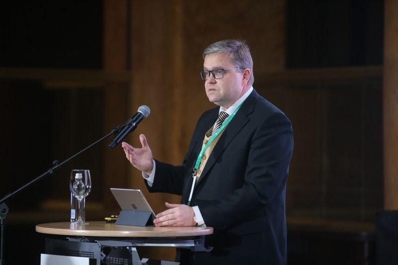Vitas Vasiliauskas, Lietuvos banko valdybos pirmininkas ir ECB valdančiosios tarybos narys. Vladimiro Ivanovo (VŽ) nuotr.
