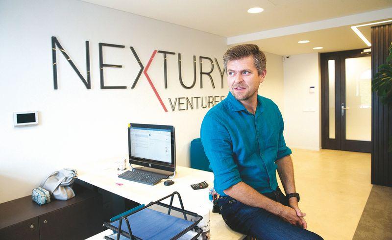 "Ilja Laursas, rizikos kapitalo fondo ""Nextury Ventures"" vadovas. Juditos Grigelytės (VŽ) nuotr."
